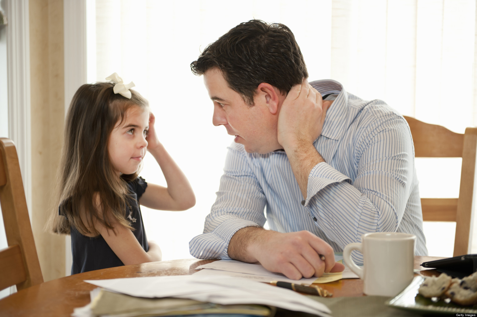 Discutii de evitat in fata copiilor Image