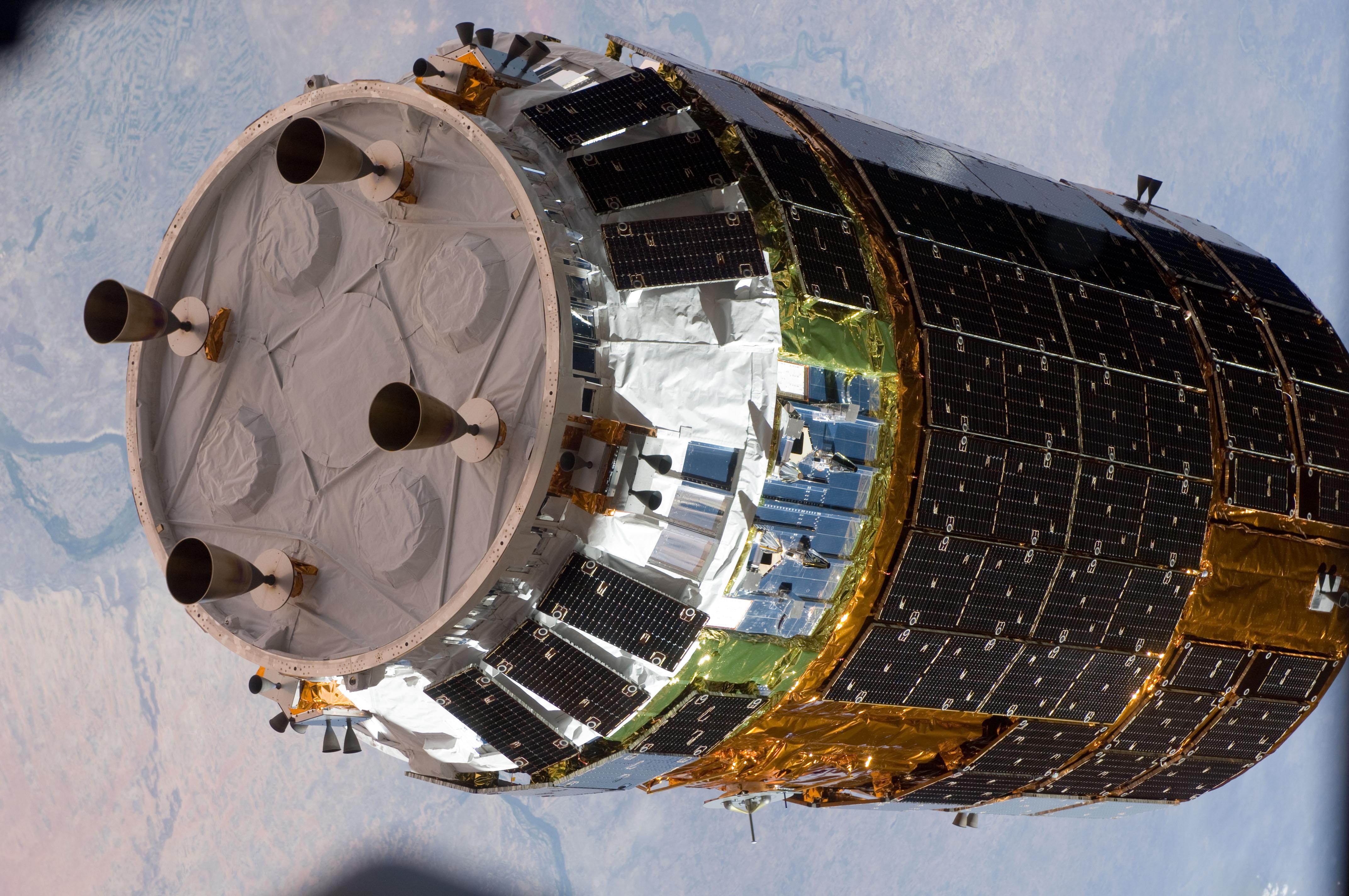 HTV-5 conectata cu succes la ISS Image