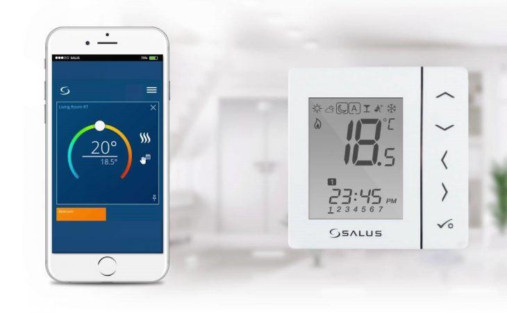 Renunta la chinul incalzirii in locuinta – termostatele Salus aduc confortul in locuinta ta! Image